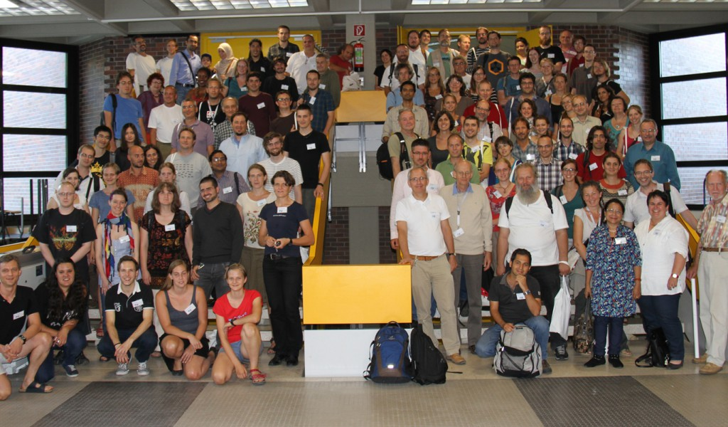 Participantes do 5º Workshop de Mirmecologia da Europa Central