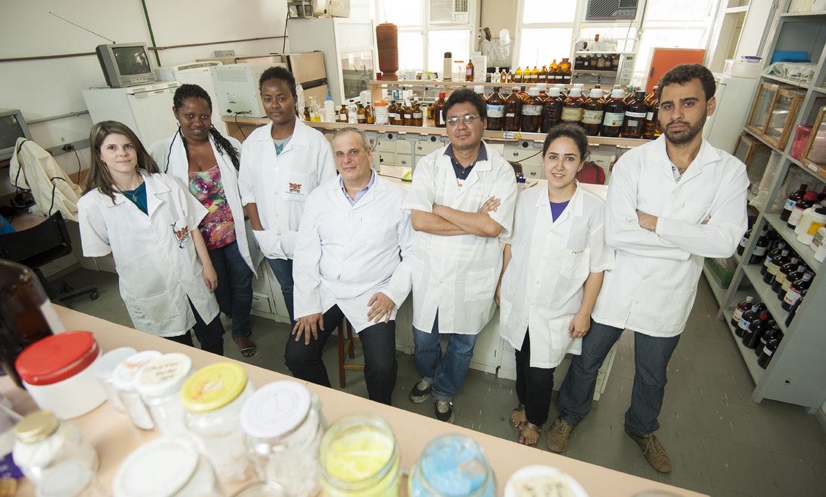 Equipe Laboratório de Morfologia Interna de Insetos