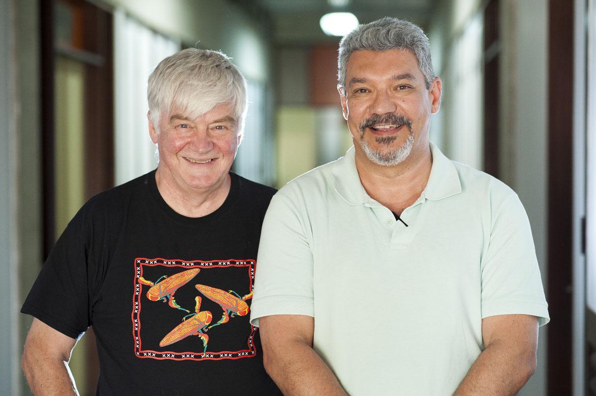 Jeremy McNeil e Eraldo Lima