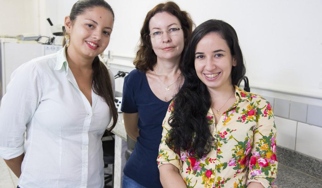 Sheila Tavares, Marcela Silveira e Renata Marques