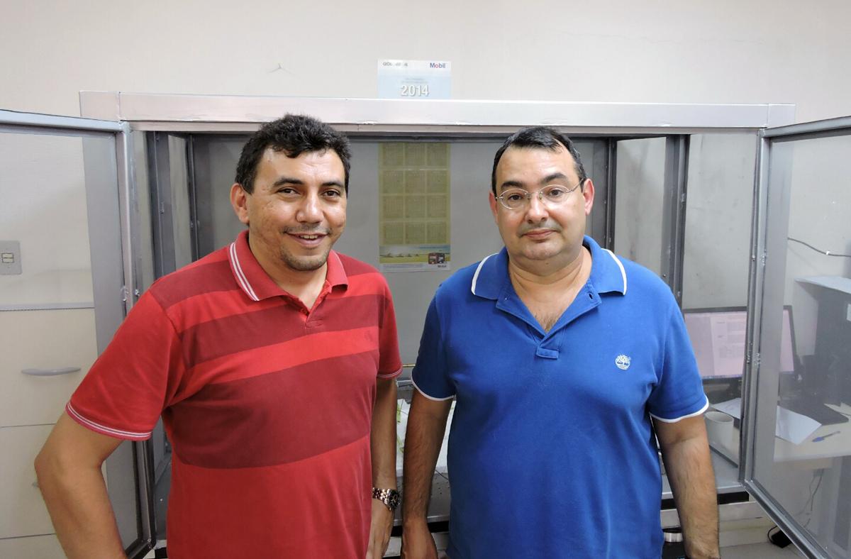 Carlos Dias Maciel e Eugenio Oliveira