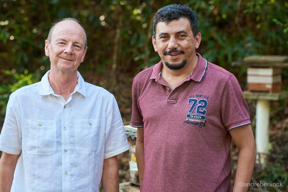 Chris Jackson e Eugenio Oliveira
