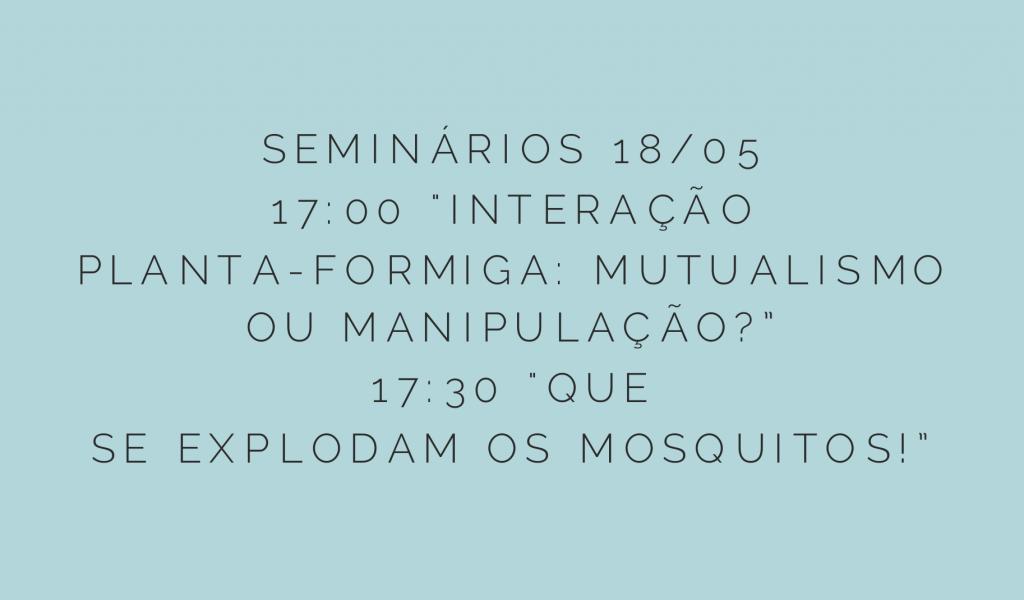 Seminário 18 maio