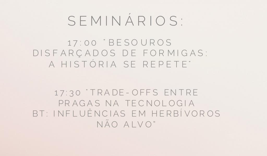 Seminários 29 de junho